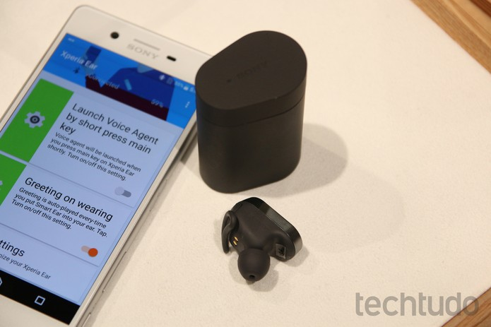 Xperia Ear (Foto: Fabrício Vitorino/TechTudo)