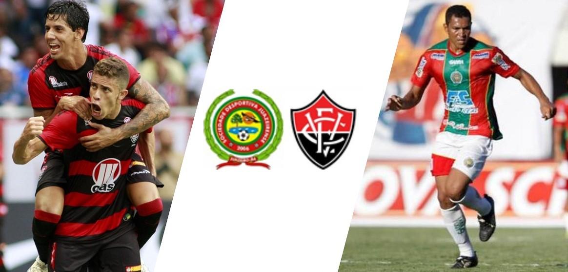 Juazeirense e Vitória se enfrentam neste domingo, dia 8 (Foto: divulgação)