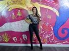 Samantha Schmütz investe na feminilidade para dar adeus à imagem de Juninho Play