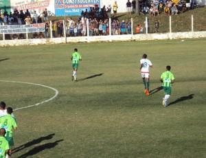 Cordino e Sampaio jogam no Estádio Leandrão, em Barra do Corda, pela decisão do segundo turno do Estadual (Foto: Afonso Diniz/Globoesporte.com)