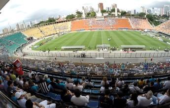 Santos inicia venda de ingressos para jogo contra o Botafogo, no Pacaembu