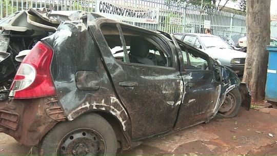 Criança morre e pais ficam feridos gravemente em acidente em Sarandi