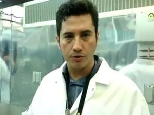 Biólogo brasileiro que trabalha na Nasa (Foto: Geraldo Jr./G1)