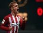 Com dois gols de Griezmann, Atlético vence o time de Conca em Xangai