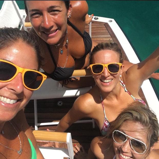 Patricia Maldonado e as amigas (Foto: Reprodução/ Instagram)