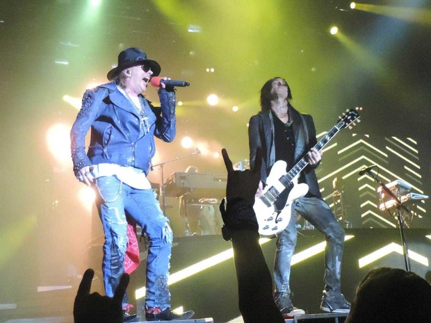 Guns N' Roses (Foto: Luna Markman / G1)