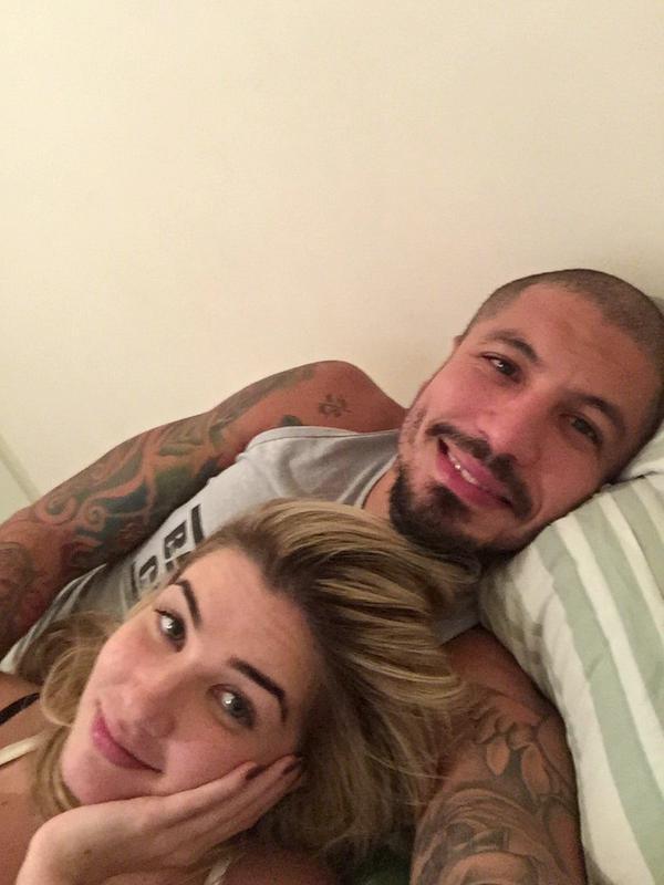 Ex-BBBs Aline e Fernando (Foto: Twitter/ Reprodução)