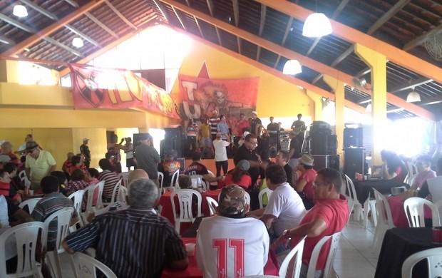 Moto Club realiza evento no Iate Clube (Foto: João Ricardo/Globoesporte.com)