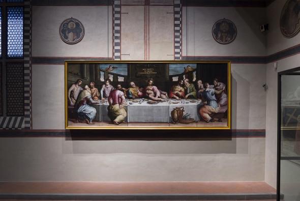 A Última Ceia de Vasari (Foto: Divulgação)