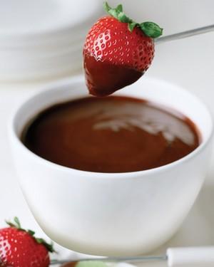 Foundue de chocolate funcional (Foto: Divulgação)