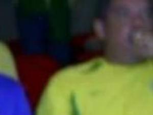 Médico aparece em foto em estádio de futebol no dia 6 de junho, segundo o pai em São Carlos (Foto: Reprodução/Facebook)