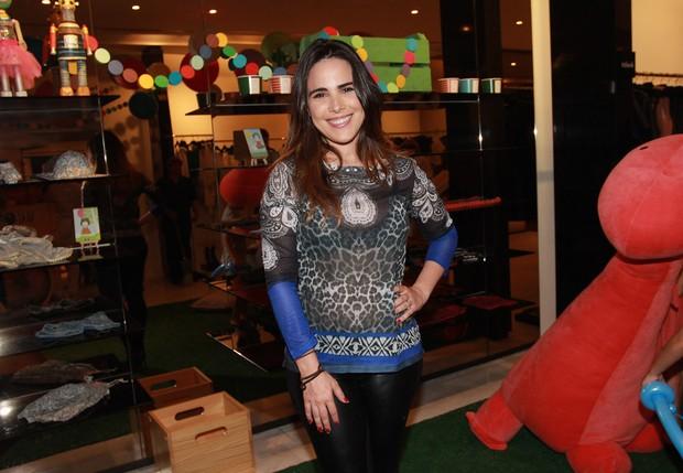 Wanessa no lançamento da coleção Enfance (Foto: Celso Tavares/EGO)
