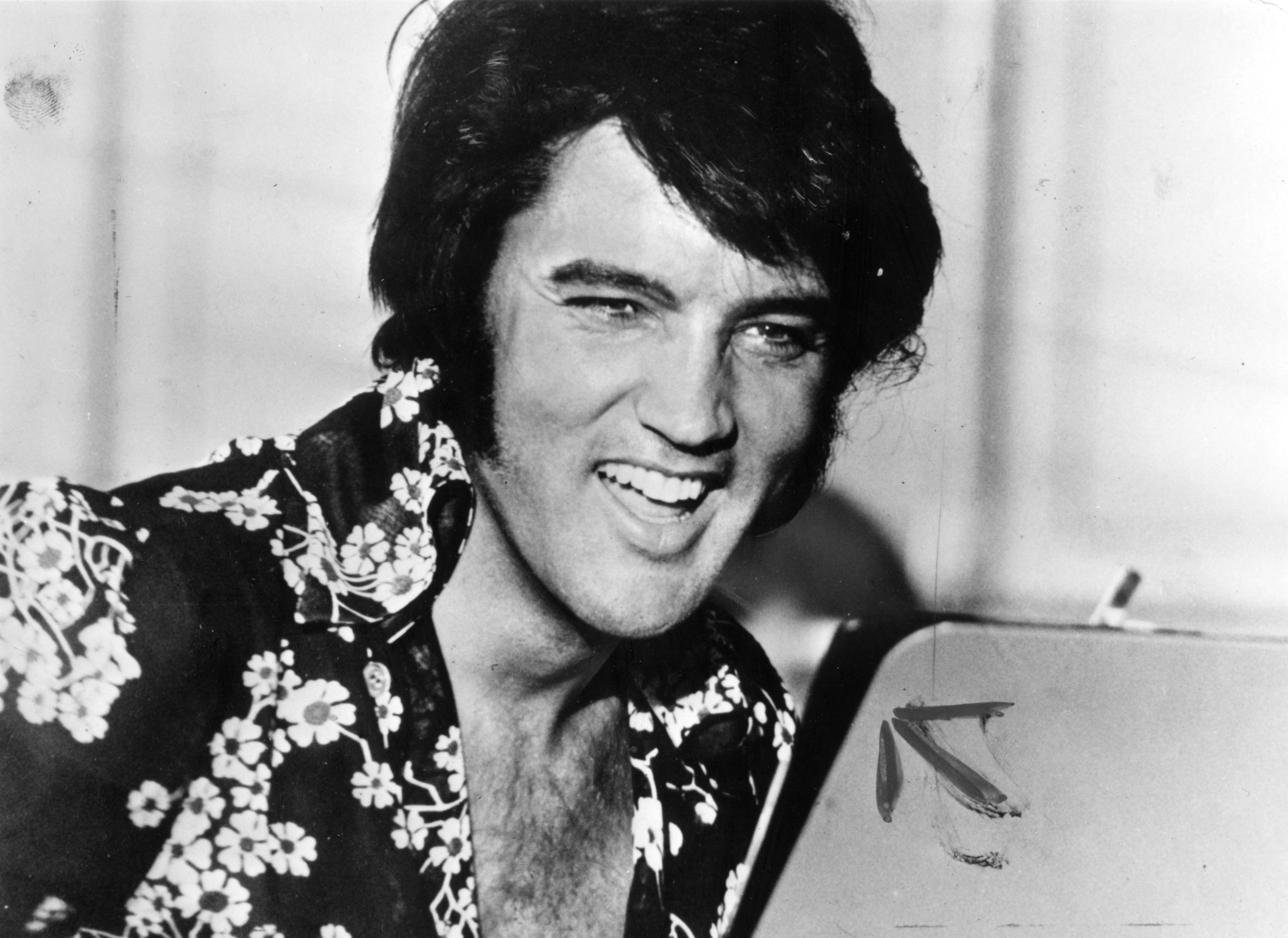 Elvis em 1975 (Foto: Getty Images)