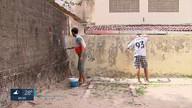 Voluntários revitalizam escola pública na Zona Norte do Recife