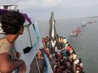 Mianmar quer deportar imigrantes resgatados para Bangladesh