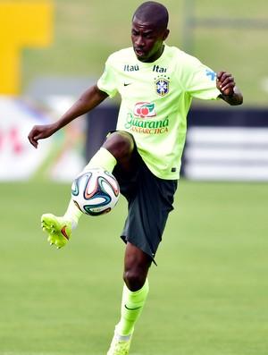 ramires treino seleção brasileira (Foto: Gaspar Nóbrega/VIPCOMM)