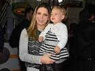 Mãe de Brenda, Sheila Mello fala sobre maternidade: 'Muito realizada'