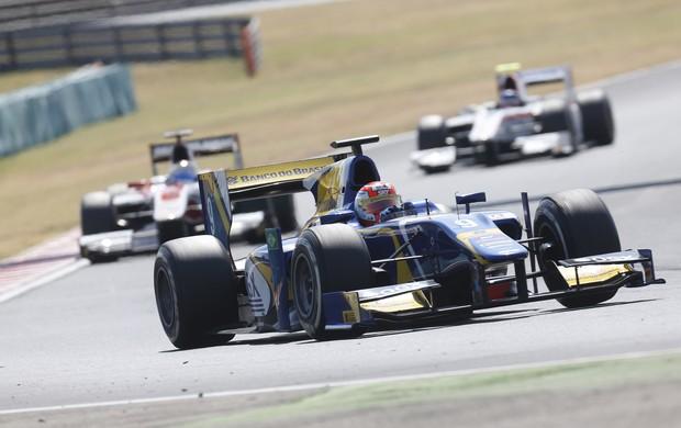 Felipe Nasr chegou em quinto na corrida 2 da GP2 na Hungria (Foto: Divulgação)