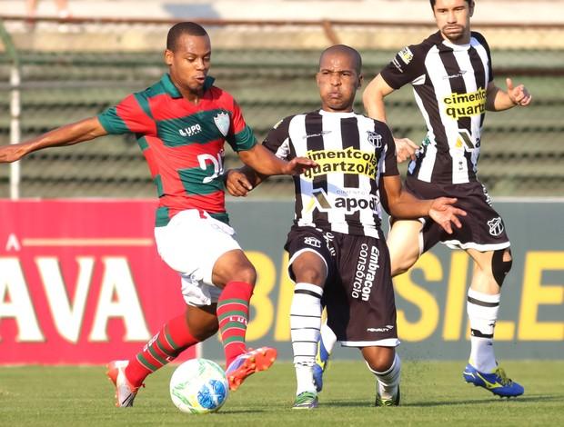Djalma e João Marcos, Portuguesa e Ceara (Foto: Rodrigo Gazzanel / Futura Press)