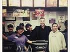Após premiação, Timberlake faz a alegria de funcionários de lanchonete