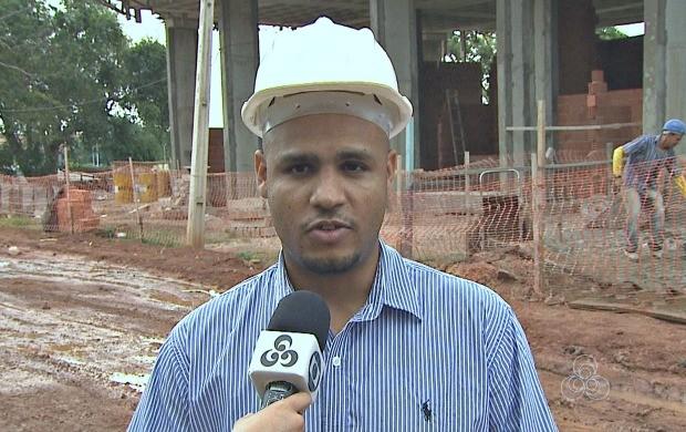 Quadro 'Quero Trabalhar' aborda a profissão de engenheiro civil (Foto: Bom Dia Amazônia)