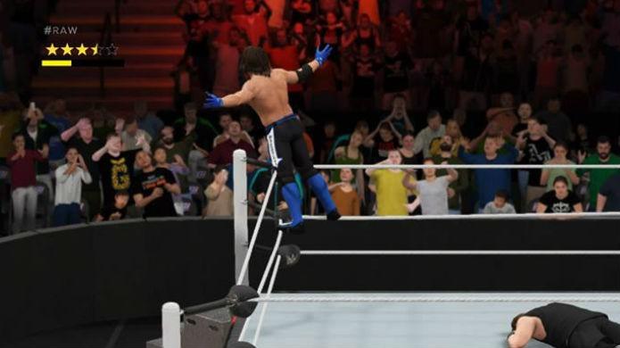 WWE 2K17 é ótimo para quem curte luta livre (Foto: Reprodução / Thomas Schulze)