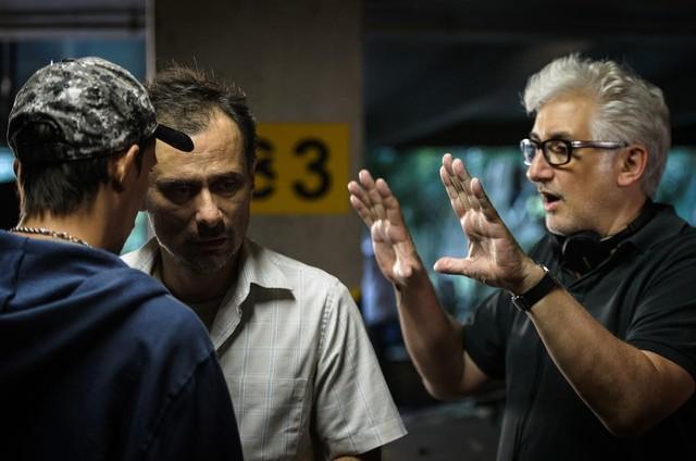 Enrique Diaz e Luciano Moura  (Foto: Ramon Vasconcelos/ TV Globo)