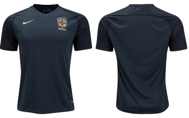 BLOG: Site vaza suposta nova terceira camisa da Seleção; modelo não será usado em jogo