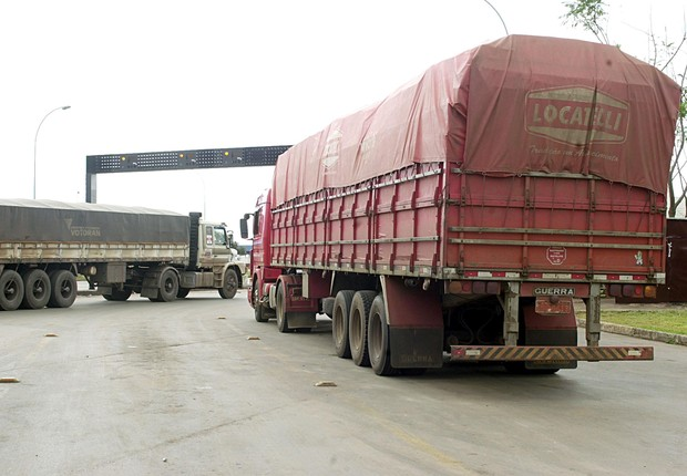 Transporte de carga ; caminhão ; roubo de carga ;  (Foto: Gervasio Baptista/Agência Brasil)