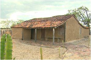 Casa de Lampião, rei do cangaço (Foto: Reprodução EPTV)