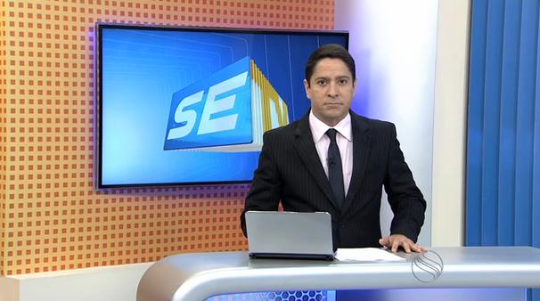 Ricardo Marques, apresentador do SETV 2ª Edição (Foto: Divulgação / TV Sergipe)