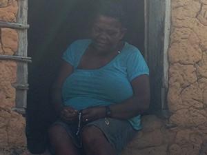 Lavradora Maria Isabel dos Santos, 68 (Foto: Clarissa Carramilo / G1)