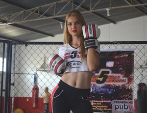 Ana Larissa Tesch, de 18 anos (Foto: Lauane Sena)