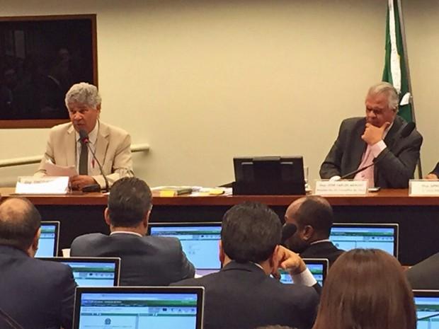 O deputado federal Chico Alencar (PSOL-RJ) durante sessão do Conselho de Ética (Foto: Nathalia Passarinho/G1)