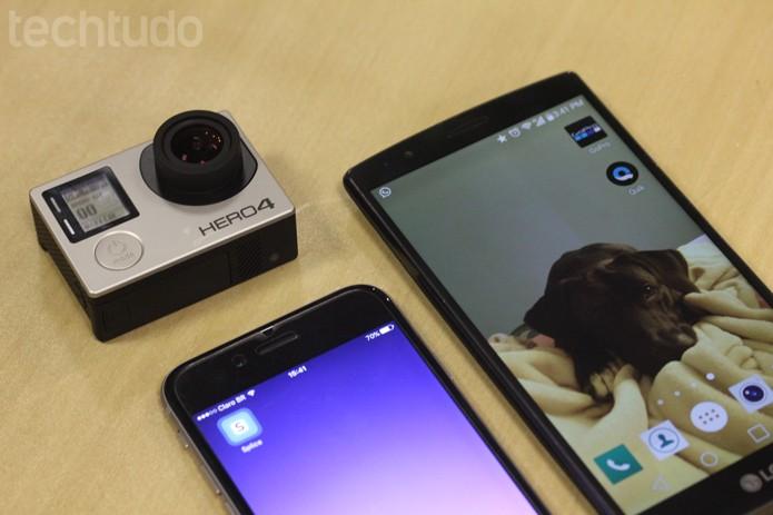 Splice e Quik: saiba como editar vídeos no celular com dois apps da GoPro (Foto: Melissa Cruz / TechTudo)