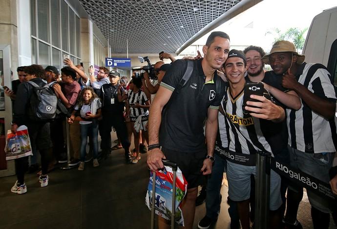 Gatito Fernández, Botafogo (Foto: Vitor Silva/SSPress/Botafogo)