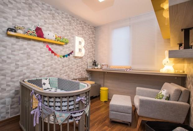 Para a blogueira Lu Ferreira, o cantinho mais gostoso do lar é o quarto de sua filha, Bia (Foto: Divulgação)