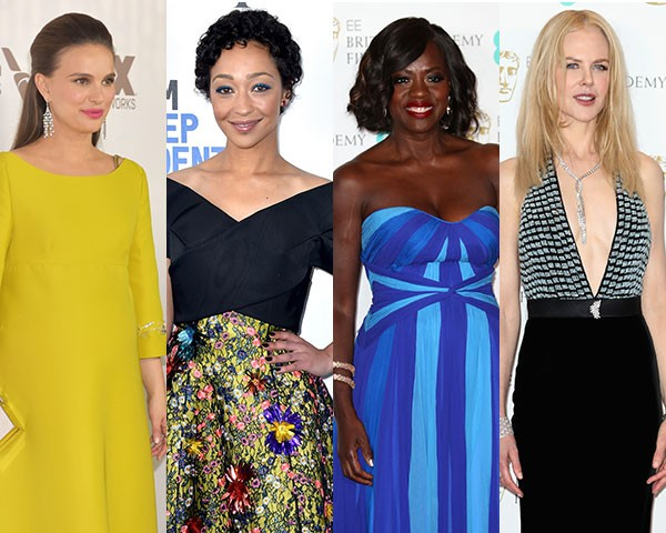 Natalie Portman, Ruth Negga, Viola Davis e Nicole Kidman (Foto: Getty Images)