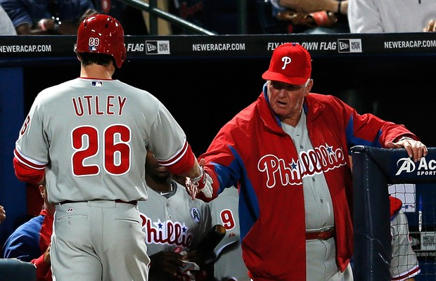 Chase Utley, jogador de beisebol do Philadelphia Phillies' (Foto: Getty Images)