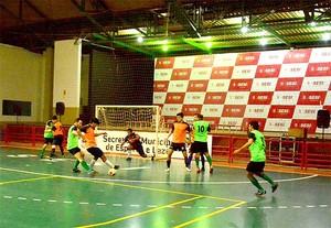 Copa Gospel de Futsal no ginásio do Sesi, em Rio Branco (Foto: Assis Lima/Asscom PMRB)