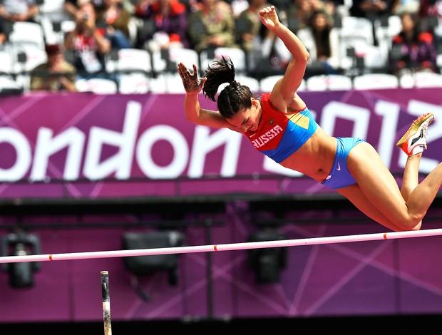 Yelena Isinbayeva, Atletismo, Londres (Foto: Agência AP)