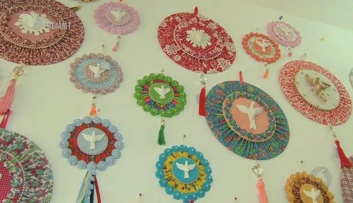 Mandalas do Divino (Foto: Luana Daubian)
