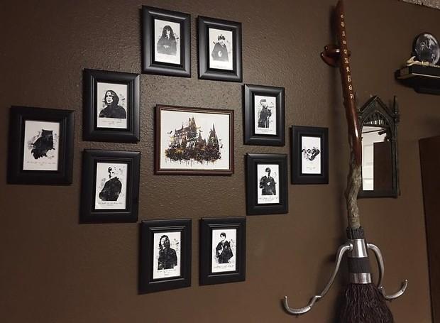 harry potter inspira decora o de quarto de beb casa e jardim decora o. Black Bedroom Furniture Sets. Home Design Ideas