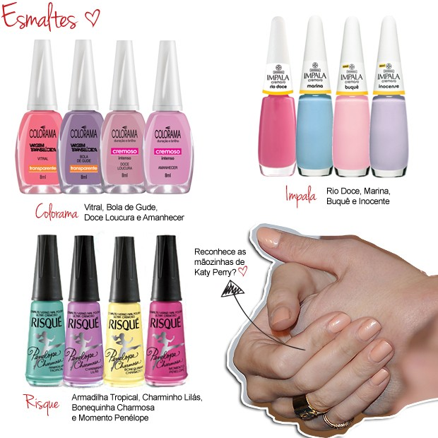 Candy Color - Esmaltes (Foto: Divulga&#231;&#227;o)