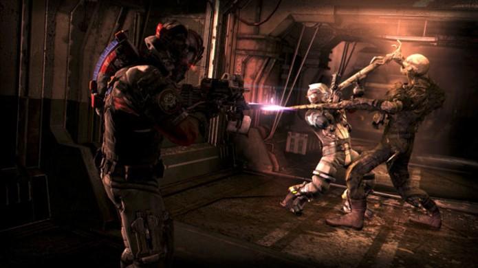 Dead Space 3: Awakened traz a conclusão da história de Isaac e Carver no game (Foto: Reprodução/Exophase)