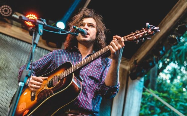 Ryley Walker no Jim Beam History Fest (Foto: Allen / Divulgao)