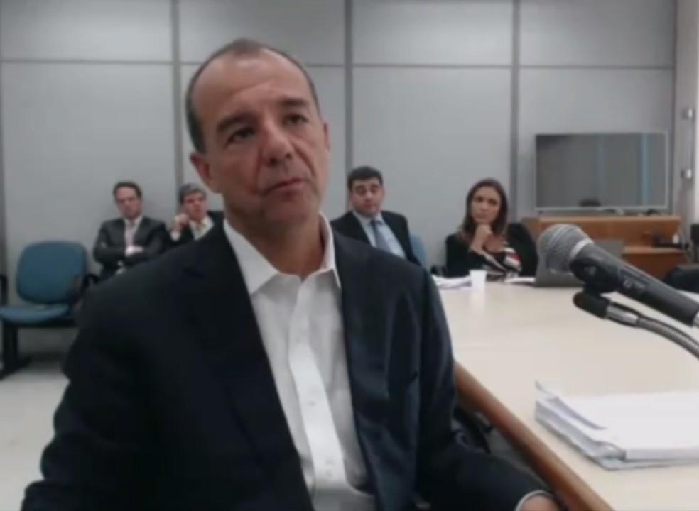Sérgio Cabral é acusado de receber propina em esquema descoberto pela Lava Jato (Foto: Reprodução)