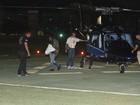 Rihanna chega de helicóptero e com esquema especial ao Rock in Rio