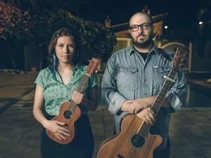 Músicos Yolanda Violeta e Adriano Sobral  (Foto: Divulgação)
