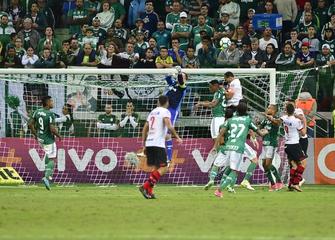 Palmeiras x Atlético-GO - Prass (Foto: Marcos Ribolli)